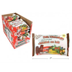 Christmas Milk Chocolate Santa's Helpers - Foil Wrapped ~ 142g bag