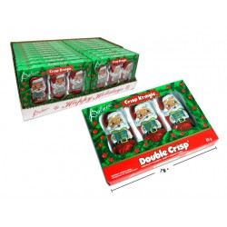 Christmas Crisp Kringle - Foil Covered ~ 3 per pack / 85g box