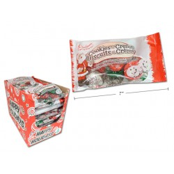 Christmas Palmer Cookies & Creme Patties - Foil Wrapped ~ 142g bag