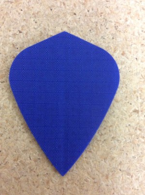 Nylon Long Life Flights ~ Blue Kite