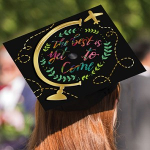 Grad Cap Decorating Kit ~ The Best is Yet to Come