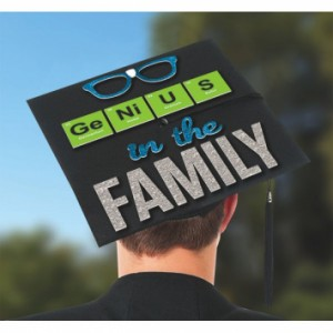 Grad Cap Decorating Kit ~ Genius In The Family
