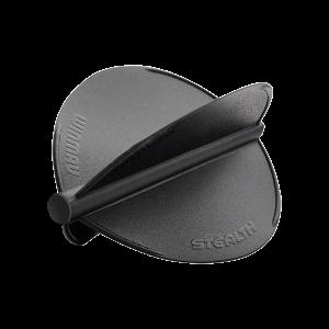 Winmau Stealth Flights ~ Black Pear