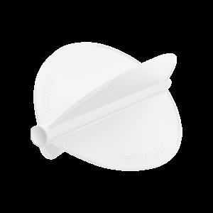Winmau Stealth Flights ~ White Pear