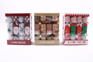 "Christmas Crackers - 6"" ~ 8 per pack"