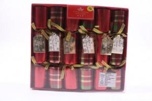 "Christmas Crackers - 8"" ~ 6 per pack"