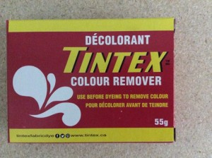 Tintex Fabric Dye 55gr ~ 60 - Color Remover