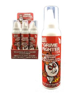 """Bear Hands """"Grime Fighter"""" Waterless Hand Cleaner Mousse ~ 142gr tin"""