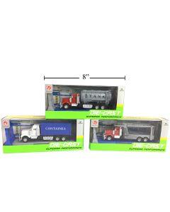Die-Cast Container Trucks