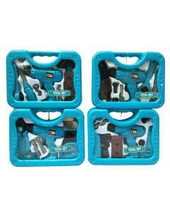Deluxe Drill with Tool Set ~ Friction Powered