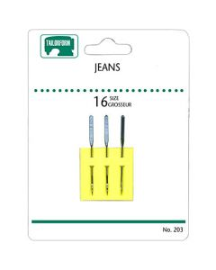 Sewing Machine Needles - Jeans ~ 3 per pack