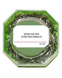 Dressmaker Extra Fine Pins w/Green Box