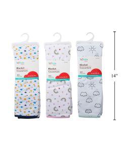 Tootsie Baby Cotton Blanket ~ 2 Layer