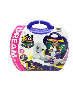 Pet Store Playset in Carrying Case