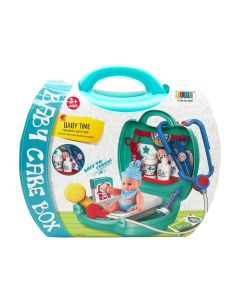 Baby Care Playset in Carrying Case