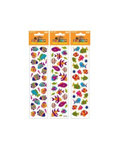 Woody's Micro Stickers ~ Tropical Fish