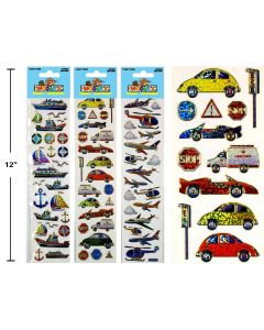Woody's Micro Stickers ~ Transportation