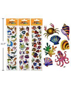 Woody's Micro Stickers ~ Sea Animals