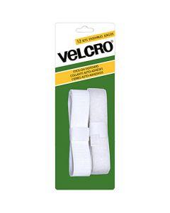 Velcro Stick On Fasteners - Strip ~ White