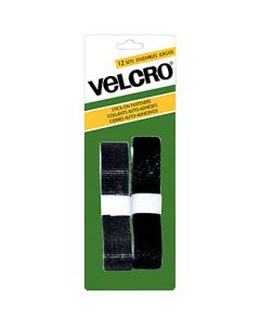 Velcro Stick On Fasteners - Strip ~ Black