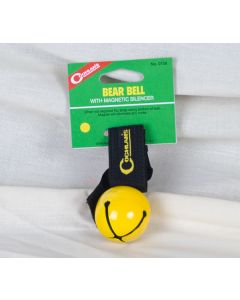 Coghlan's Yellow Bear Bell with Magnetic Silencer
