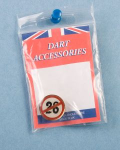 Dart Pin ~ Ban the 26