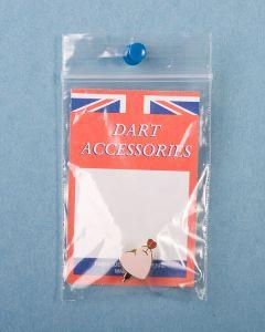 Dart Pin ~ I Love Darts {Pink Heart}