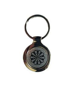 Dart Keychain ~ Dartboard