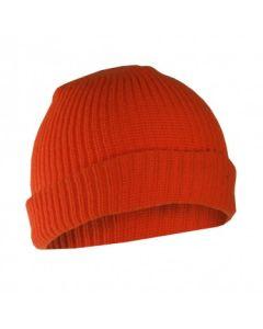 Fl. Orange Acrylic Toque