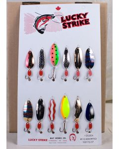 Lucky Strike Assorted Lure Cards ~ #112