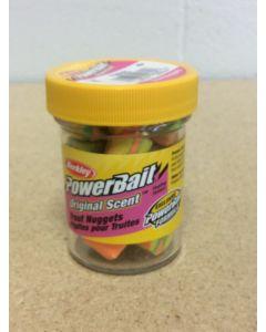 Berkley PowerBait Trout Nuggets ~ Rainbow