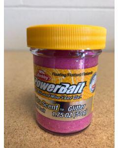 Berkley PowerBait Glitter Trout Bait ~ Pink