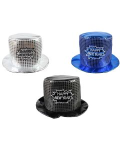 New Year's Sequin Top Hat