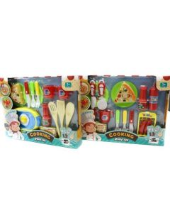 Kitchen Playset with Food
