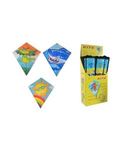 Single Line Polyester Diamond Kite ~ 60cm x 70cm