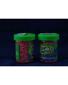 Berkley Gulp! Alive Maggots ~ Pink