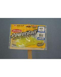 "Berkley PowerBait 3"" Double Tail Grub ~ Chartreuse"