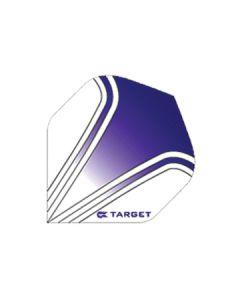 Target Vision Flights ~ Purple on White
