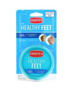 O'Keeffe's Healthy Feet - 3.4oz Jar Carded ~ 27 per sidekick display