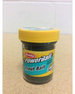 Berkley PowerBait Trout Bait ~ Green Pumpkin