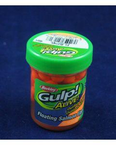 "Berkley Gulp! Alive 2"" Floating Salmon Eggs ~ Fluorescent Orange"