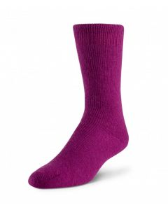 Boreal Wool Outdoor Thermal Sock - Dark Pink ~ Size Medium