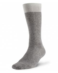 Boreal Wool Outdoor Thermal Sock - Grey ~ Size Medium
