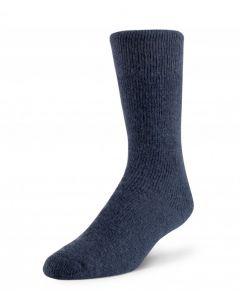 Boreal Wool Outdoor Thermal Sock - Denim ~ Size Medium