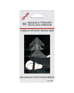 Needles & Threader ~ 50 per pack