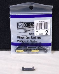 Compac Pinch-On Sinkers