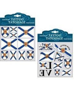 Nova Scotia Temporary Tattoos
