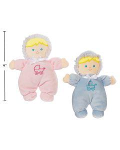 """Baby Cuddly Buddy Doll - 9"""""""