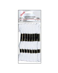 Embroidery Floss ~ White Only
