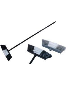 "Straight Broom (13"") + 46"" Handle ~ Case of 6"